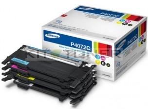 Samsung CLTP4072C - Pack de 4 toners d'origine 4 couleurs