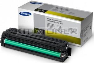 Samsung CLTY504S - Cartouche toner d'origine jaune