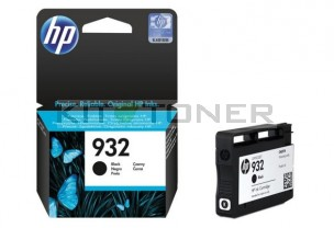 HP CN057AE - Cartouche d'encre noire de marque 932