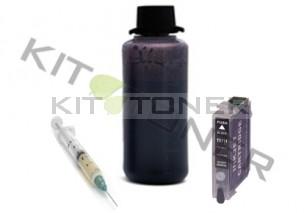 Epson C13T07114011 - Kit cartouche rechargeable compatible noire