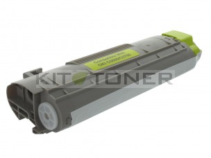 Oki 43381905 - Cartouche toner compatible Jaune