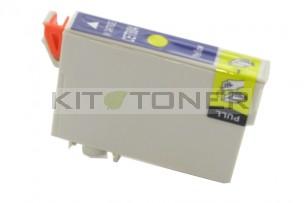 Epson C13T08044011 - Cartouche d'encre compatible jaune T0804