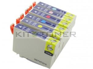 Epson C13T08074011 - Pack de 6 cartouches d'encre compatibles T0807