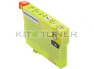 Epson C13T18144010 - Cartouche d'encre compatible jaune