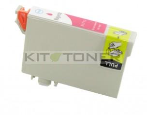 Epson C13T07134011 - Cartouche d'encre compatible magenta T0713