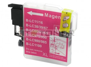 Brother LC1100M - Cartouche d'encre compatible magenta