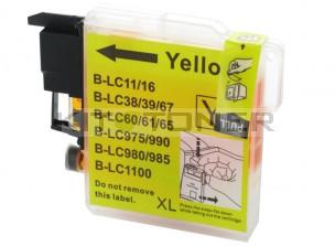 Brother LC1100Y - Cartouche d'encre compatible jaune