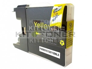Brother LC1280XLY - Cartouche d'encre jaune compatible