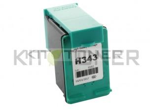 HP C8766EE - Cartouche d'encre couleur compatible 343