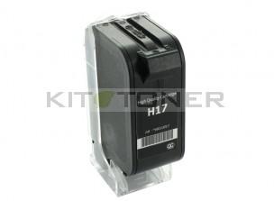 HP C6625A - Cartouche d'encre couleur compatible 17