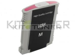 HP C9392AE - Cartouche d'encre compatible magenta 88 xl