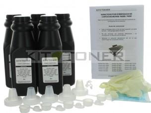Brother TN2005 - Lot de 5 kits de recharge toner compatibles