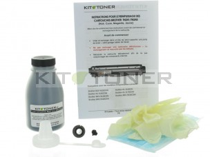 Brother TN246K - Kit de recharge toner compatible noir