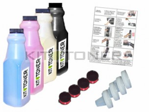 Dell 59310067 , 59310062, 59310063 , 59310061  - Kit de recharge toner compatible 4 couleurs