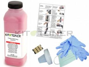 Epson S050591 - Kit de recharge toner compatible magenta