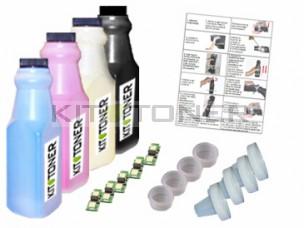 Konica 1710589004, 1710589006, 1710589005, 1710589007 - Kit de recharge toner compatible 4 couleurs
