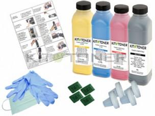 Oki 43487711, 43487709, 43487710, 43487712 - Kit de recharge toner compatible 4 couleurs