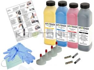 Samsung CLTC4072S, CLTY4072S, CLTM4072S, CLTK4072S - Kit de recharge toner compatible 4 couleurs