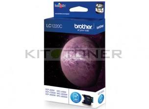 Brother LC1220C - Cartouche d'encre LC1220C cyan de marque