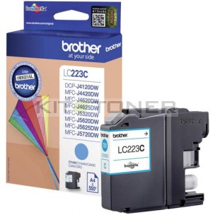 Brother LC223C - Cartouche d'encre cyan LC223C