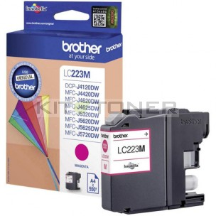 Brother LC223M - Cartouche d'encre magenta LC223M