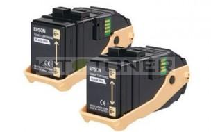 Epson S050609 - Pack de 2 cartouches de toner noir d'origine
