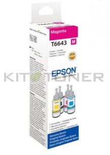Epson T6643 - Recharge d'encre magenta originale