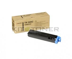 Kyocera TK500C - Cartouche de toner cyan original