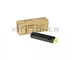 Kyocera TK500Y - Cartouche de toner jaune original