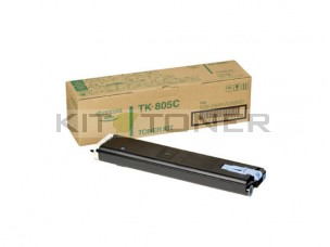 Kyocera TK805C - Cartouche de toner cyan original