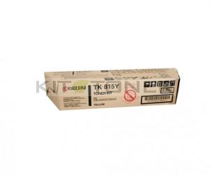 Kyocera TK815Y - Cartouche de toner jaune original