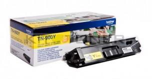Brother TN900Y - Cartouche de toner d'origine jaune