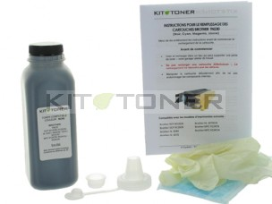 Brother TN230K - Kit de recharge toner compatible Noir