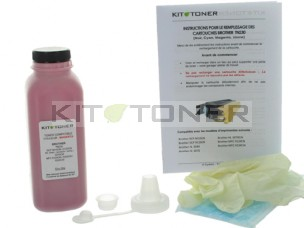 Brother TN230M - Kit de recharge toner compatible Magenta