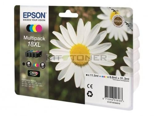 pack de 4 cartouches encre epson t1916 pour imprimante epson expression home xp315. Black Bedroom Furniture Sets. Home Design Ideas