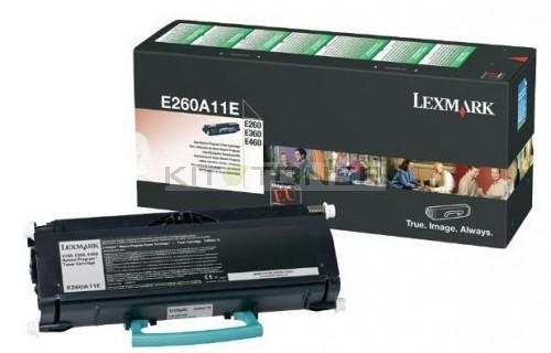 cartouche de toner d 39 origine pour imprimante lexmark e260n. Black Bedroom Furniture Sets. Home Design Ideas