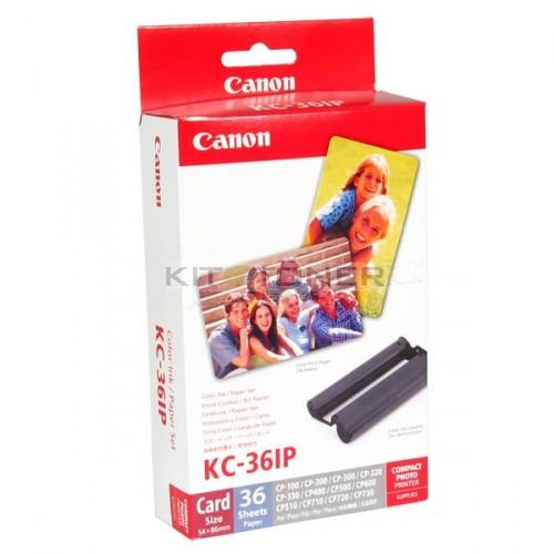 Kit Encre Et Papier Photo 54 X 90mm Pour Imprimante CANON Selphy CP810