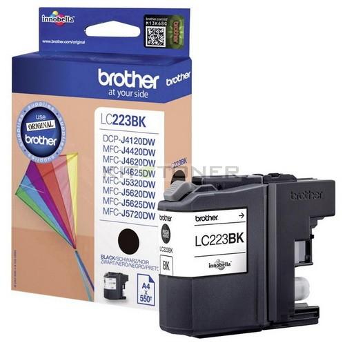 cartouche d 39 encre noire lc223bk pour imprimante brother mfc j680dw. Black Bedroom Furniture Sets. Home Design Ideas