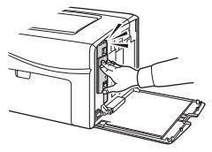 Dell 1250C, 1350CNW, 1355CN, 1355CNW - Instructions pour le remplacement des toners