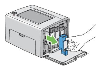 Epson Aculaser C1700, CX17 series - Instructions pour le remplacement des toners