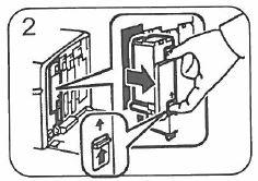 Epson Aculaser C1700, C1750, CX17 - Retirer cartouche toner
