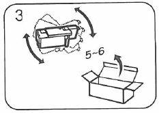 Epson Aculaser C1700, C1750, CX17 - Secouer cartouche