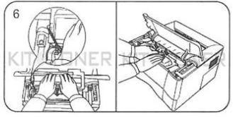 Epson Aculaser M2000 - Instructions pour le remplacement des toners