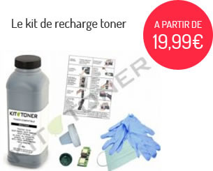 Le kit de recharge toner